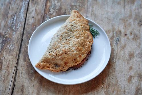 3 Cheese & Onion - Pie Junkie - Turnover Savoury Pie