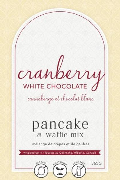 Lannie Rae Gourmet -Cranberry White Chocolate Pancake & Waffle Mix