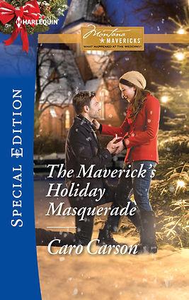 Caro Carson, The Maverick's Holiday Masquerade, book to movie, Hometown Holiday