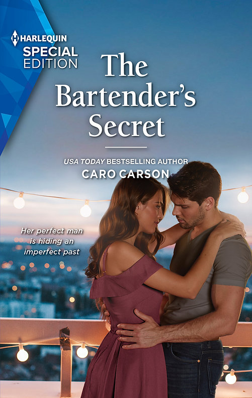 The Bartender's Secret by Caro Carson USA Today Bestselling author Masterson, Texas Book 1