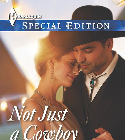 Not Just a Cowboy by Caro Carson book cover
