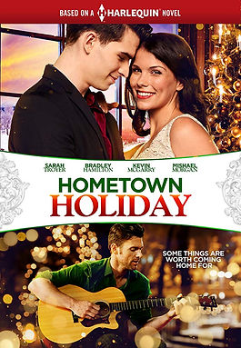 Hometown Holiday movie from book, The Maverick's Holiday Masquerade by Caro Carson