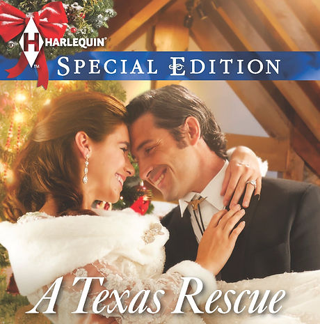 Texas Rescue Christmas by Caro Carso romance book cover