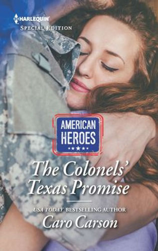 The Colonels' Texas Promise, winner of the HOLT Medallion and the Book Buyers Best Award