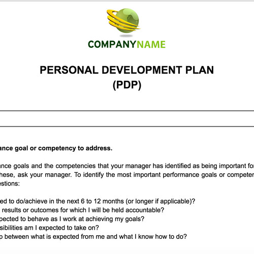 Anne Caron Consulting HR Consulting Services – Pdp Templates