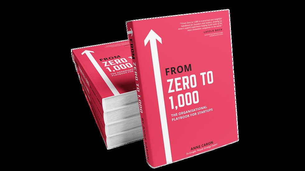 +50 Copies | From Zero to 1,000