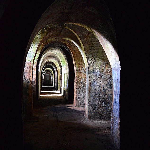 Exeter Catacombs by Geoff Marshall