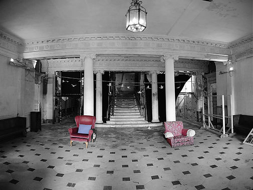 Entrance Hall - Poltimore House_Geoff Ma