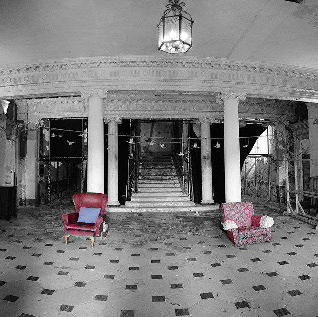 Entrance Hall of Poltimore House by Geoff Marshall