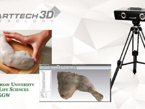 Unusual use of the 3D scanner- meat scanning