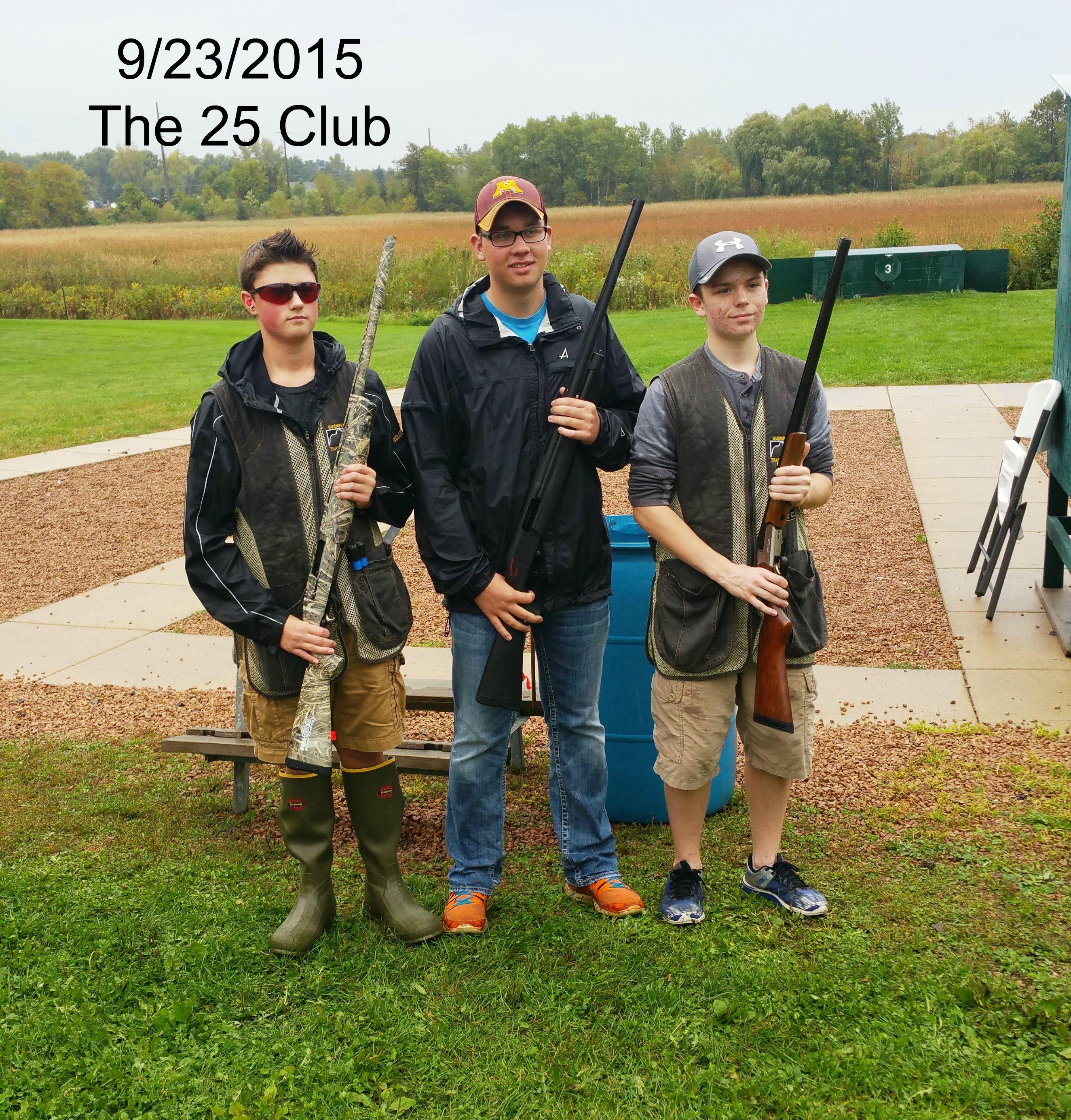 The 25 club 9-23-2015