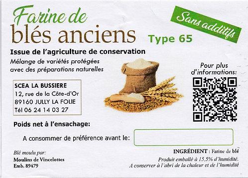 FARINE DE BLES ANCIENS
