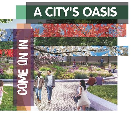 Image of Bernie Spain Gardens brochure
