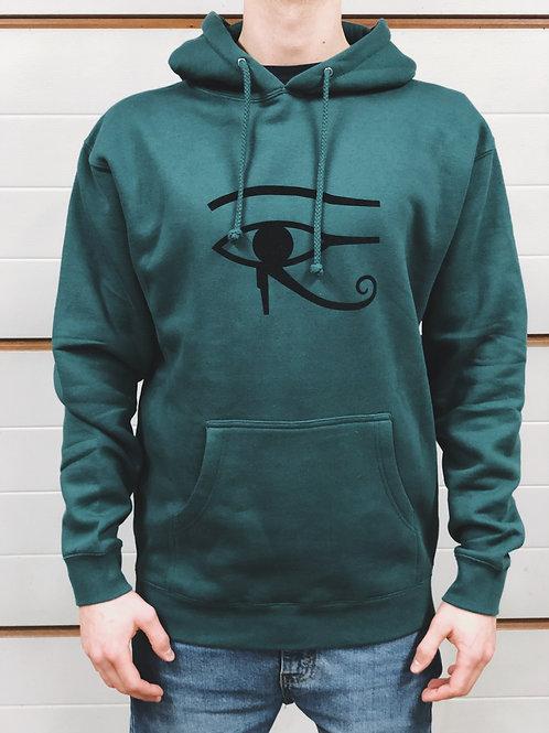 Horus hoodie zielona