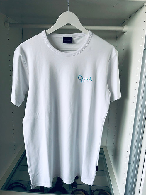 Structure t-shirt biały