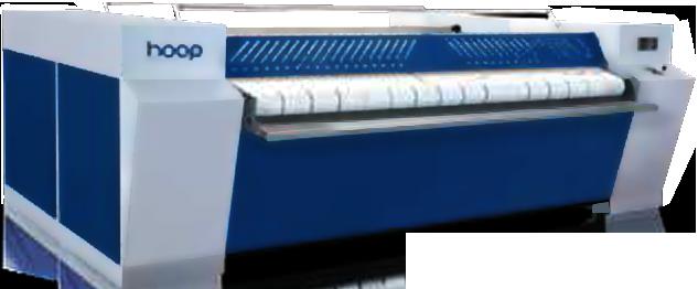 HOOP YDII-3000 Индустриальный гладильный каландр 2 вала, электронагрев