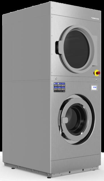 IMESA TDM1818 тандем: сушильная+стиральная машины (загрузка 18кг+18кг)