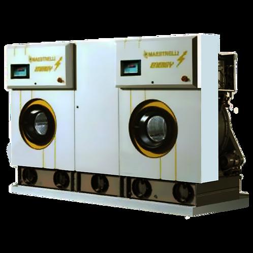 MAESTRELLI ENERGY TWIN400 Машина химчистки (5 баков, ПХЭ, загрузка 18+18 кг)