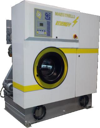 MAESTRELLI ENERGY 350S Машина химчистки (2 бака, перхлорэтилен, загрузка 15 кг)