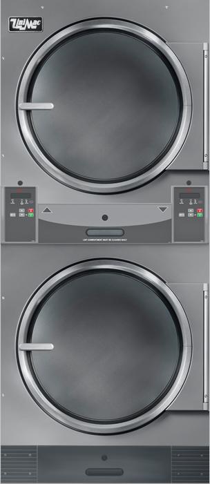 UniMac UUT30 пар (загрузка 2 x 13,5 кг) сушильный барабан