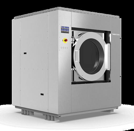 IMESA LM125 (загрузка 125 кг) подрессоренная стирально-отжимная машина