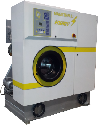 MAESTRELLI ENERGY 400S Машина химчистки (2 бака, перхлорэтилен, загрузка 18 кг)
