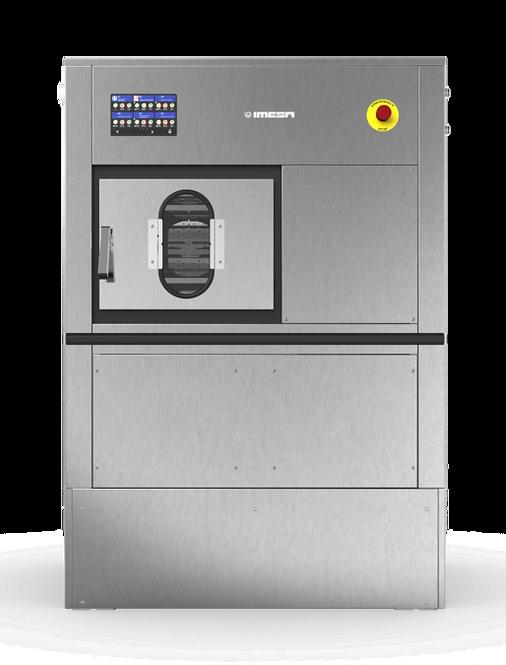 IMESA D2W-18 (загрузка 18 кг) барьерная стирально-отжимная машина