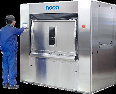 HOOP GLX-100  (загрузка 100 кг) барьерная стирально-отжимная машина