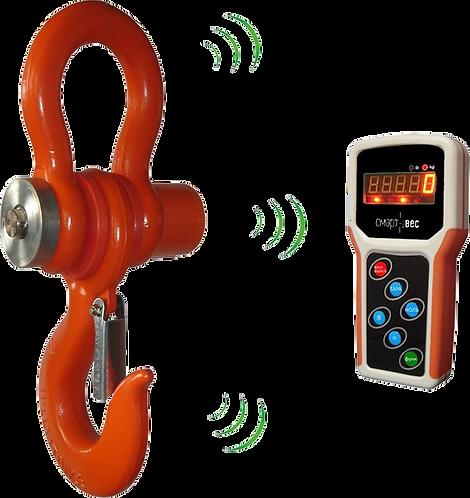 Электронные крановые весы на 10 т СмартВес ВЭК-Д-10000 (индикатор на пульте ДУ)