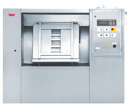UniMac UB1400 (загрузка 140 кг) барьерная стирально-отжимная машина