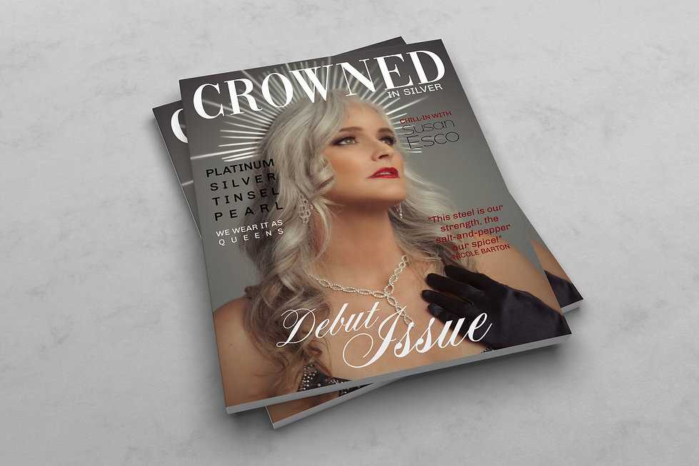 CROWNED IN SILVER MAGAZINE COVER FIRST E