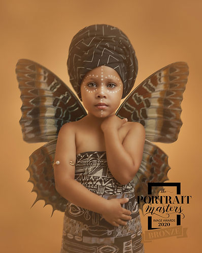 SERENITY; AN AFRICAN FAIRY