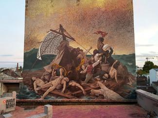 Fresque Le Radeau de la Méduse 2019 [FR/ENG]