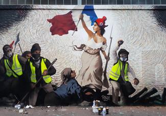 Fresque Liberté guidant le peuple 2019