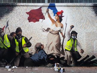 Fresco Liberty leading the people 2019