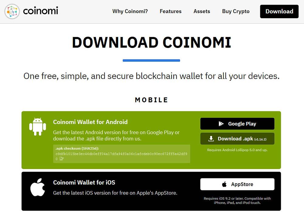 Télécharger votre portefeuille Bitcoin