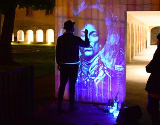 Ghost painting à la Maison de l'Architecture