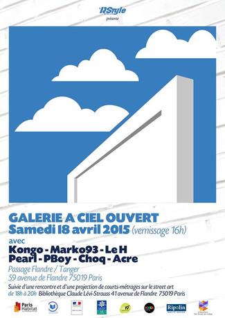 Galerie à ciel ouvert 2015