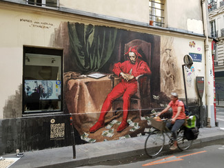 Contemplations of the Red Jester / Pensées du bouffon rouge