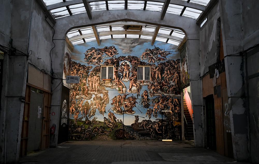The Underground Sistine Chapel by Pascal Boyart aka Pboy. Photo by @Stefano Rellandini
