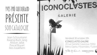 Vernissage galerie Iconoclastes le 30 octobre