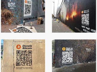 Tutorial: How to receive Bitcoin donations on your Street Art pieces [ENG]