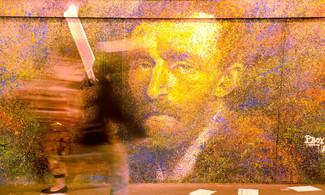 Fresque Van Gogh fait le mur