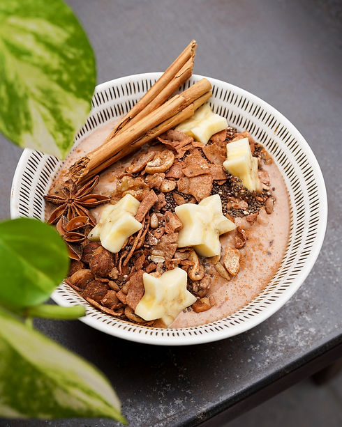 Smoothie Bowl-Chai Harder-Hustle n' Flow
