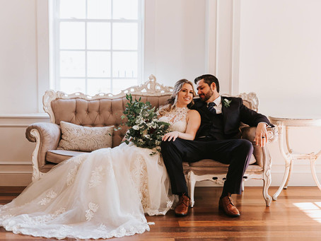 Jessi & Dustin - Just Married - The White Room