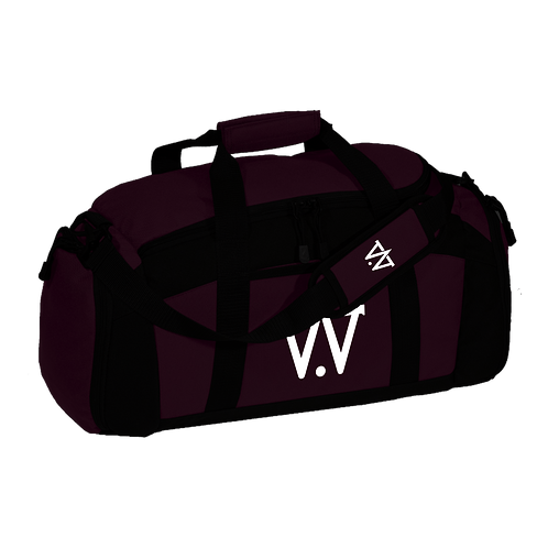 Maroon Duffel Bag