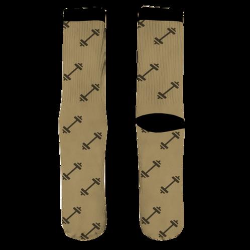 Barbell Socks - Khaki
