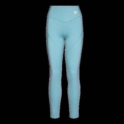 Women's Training Leggings - Light Blue
