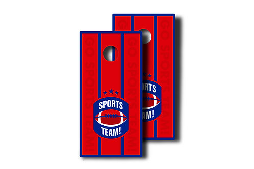 Sports Team Custom Design Set