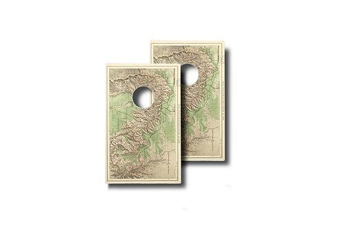 Topo Map Set